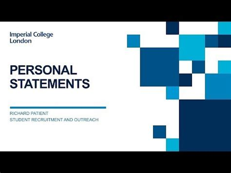 HELP! How do I write an outstanding personal statement for